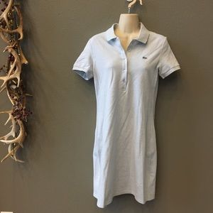 Dresses & Skirts - Lacoste baby blue polo dress